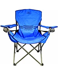 Highlander Lumbar Support Camp Chair - Blue