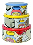 Marmite Tin RCA Cake Tins, Set of 3