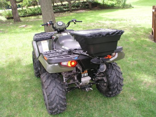 Great Deal! Field Tuff AS-12V 12-Volt ATV Broadcast Spreader