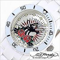 エドハーディー腕時計[EdHardy時計]( Ed Hardy 腕時計 エド ハーディー 時計 )ビップ シリーズ(VIP)/メンズ/レディース/男女兼用時計EDHARDY-VP2-WH