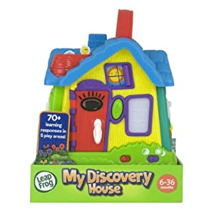Unique LeapFrog My Discovery House - Parents can connect to the online LeapFrog Learning Path