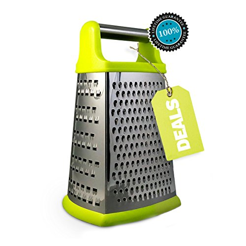 NORÖ Stainless Steel Cheese,Vegetable Boxed Grater (Rachel Ray Box Slicer compare prices)