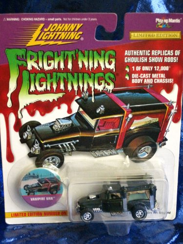Johnny Lightning Frightning Lightning Vampire Van Die Cast Vehicle