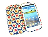 Designer Blue Rose Shabby Chic Vintage SAMSUNG GALAXY S3 I9300 Tpu soft gel case/cover