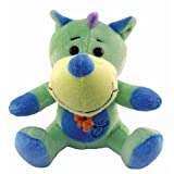 Puzzled Green Dino - Boomer Plush ~ Puzzled