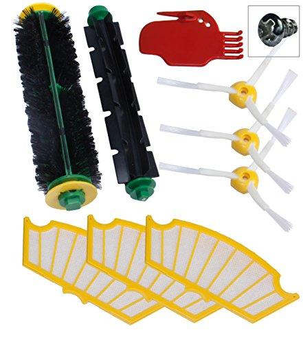 Kit d'entretien pour iRobot Roomba avec brosses et filtres - série 500 510 520 530 531 532 537 540 550 560 570 580 - SchwabMarken