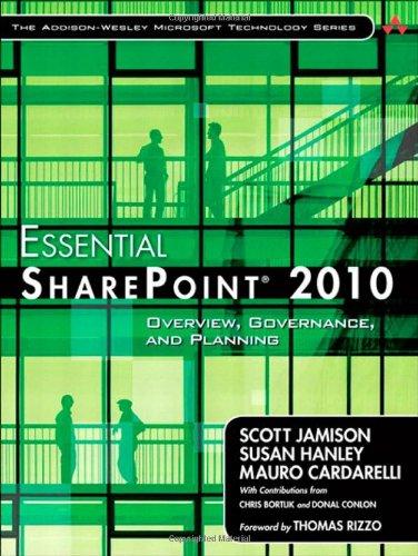Essential SharePoint 2010 0321700759 pdf