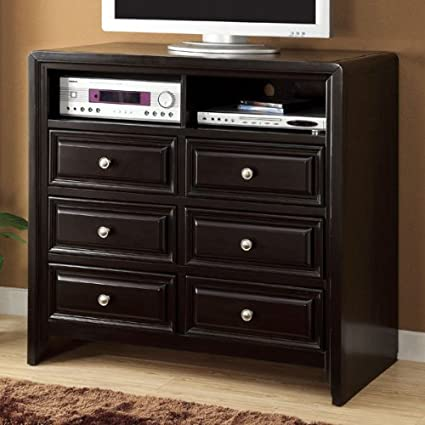 Yorkville Espresso Finish Media Chest/TV Stand