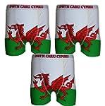 **Great Value** Mens 3pk Welsh Dragon...