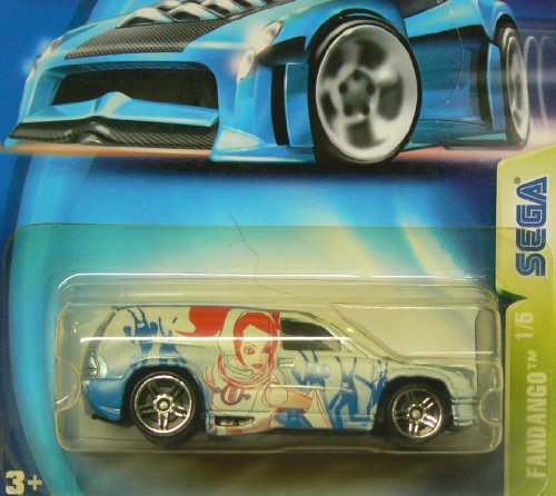 Hot Wheels 2003 Sega Fandango 1/5 BLUE 110 - 1