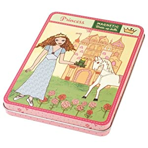 Mudpuppy Princess Magnetic Figures