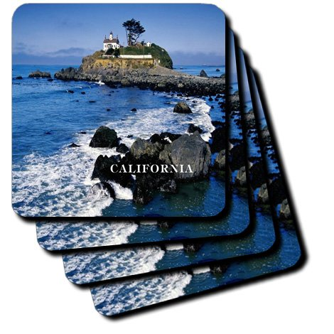 Florene America The Beautiful - Battery Point lighthouse California - Coasters peter j westwick the national labs – science in an american system 1947–1974
