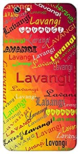 Lavangi (Popular Girl Name) Name & Sign Printed All over customize & Personalized!! Protective back cover for your Smart Phone : Moto G2 ( 2nd Gen )