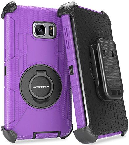sports shoes 631bf 2b304 S7 Edge Case, Galaxy S7 Edge Holster Case, BENTOBEN Hybrid - Import It All