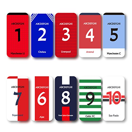 iPhone4/4S/5/5s/5c/6/6plus/GALAXY/XPERIA/AQUOS/ARROWS/選択可:サッカーユニフォーム(クラブ2:アーセナル)(好きな番号と名前を受注生産)プリントプラスティックケース シルエット (iphone6 plus用)