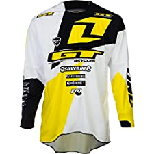 One Industries Atherton Jersey Long Sleeve Men's Black/White/Yellow