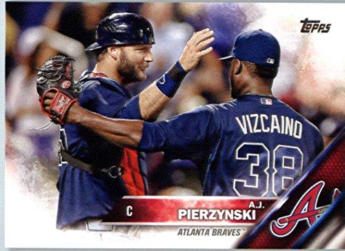 2016 Topps Limited Glossy Tiffany #635 A.J. Pierzynski Atlanta Braves Baseball Card (Aj Tiffany compare prices)