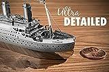 Bemodst® DIY model building Metallic Nano Puzzle DIY 3D Titanic Laser Cut Models