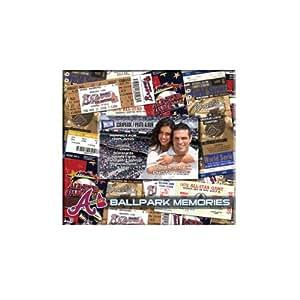 MLB Atlanta Braves 8x8 Scrapbook Photo Album