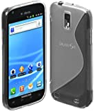niceeshop(TM) Clear S Line TPU Case for Samsung Galaxy S2 T989 With Screen Protector