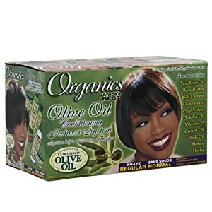 Organics, Olive Africa's Best, Organic Olive Oil Conditioning Relaxer Kit, Regular