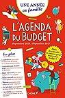 Agenda du Budget sept 2016 - sept 2017 Une année en famille par Foufelle