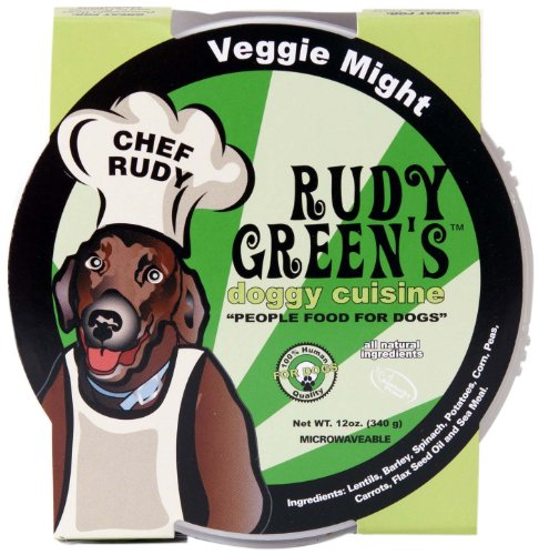 Rudy Greens Doggy Cuisine Veggie Might, 12-Ounce Units (Pack Of 8)