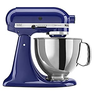 KitchenAid KSM150PSBU 5-Qt. Artisan Series with Pouring Shield - Cobalt Blue