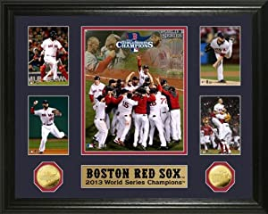 Boston Red Sox 2013 World Series Champions Commemorative Gold Coin Photo Mint by Highland Mint