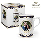 Royal Heritage - Designed in England LP18072 Commemorative Wedding Mug Gift, White