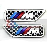 BMW M Series M Sport Chrome Vent Grill Set. M3 M5 M1 330C Msport M-Sport