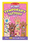 Melissa   Doug My First Temporary Tattoos  Pink
