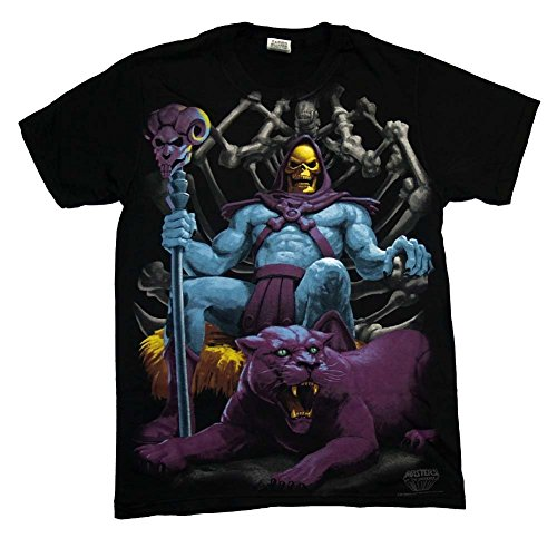 Men's Skeletor In The House T-Shirt- 100% Cotton - S to XXXL