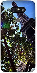 Paris Eiffel Tower by Sanchali Printed Back Cover Case For LG G5