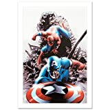 """Stan Lee Signed MARVEL Limited Edition Canvas """"Spectacular Spider-Man #15"""""""