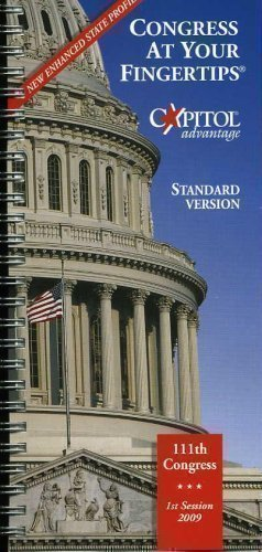 Congress At Your Fingertips: 111th Congress: 1st Session 2009 Standard Version