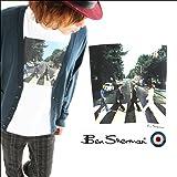 【メンズ】 (ベンシャーマン) BenSherman The Beatles -ザ・ビートルズ- 【Abbey Road】プリント ショートスリーブTEE