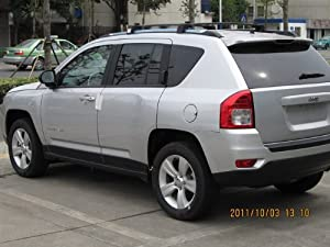 Roof Rack Cross Bars for Jeep Compass 2011 2012 2013 2014 by D.D