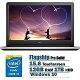 2017 Dell Inspiron Flagship Edition 15.6 Full HD Touchscreen Backlit Keyboard Laptop Intel Core I5-6200U 12GB...
