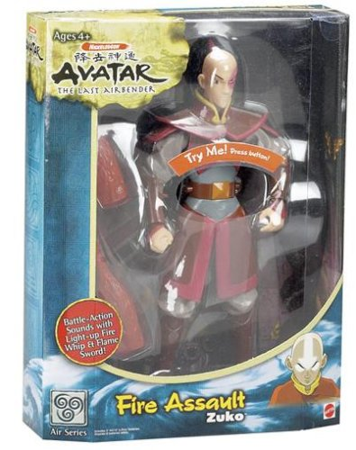 Avatar Fire Assault Zuko