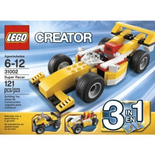 LEGO Creator Super Racer 31002 Amazon.com