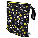 Planet Wise Wet/Dry Bag, Bumble Dot