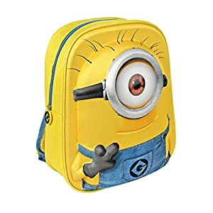 Despicable Me Kids Minions Backpack With 1 Eye