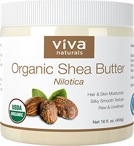 Viva Naturals Organic Shea Butter, 16 oz (Supreme Top Form compare prices)