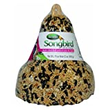 Songbird Selections 1022819 Multi-Bird with Fruit & Nuts Wild Bird Food, Bell Shape, 12-Ounce