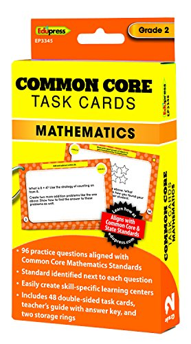 Common Core Math Task Cards Grade 2 - 1