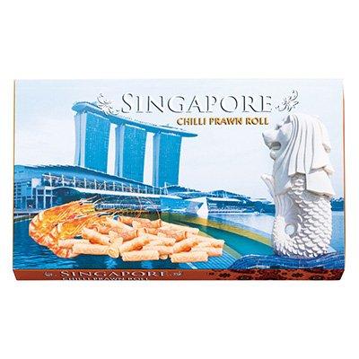 シンガポール チリプラウンロール1箱(シンガポール土産・海外土産)