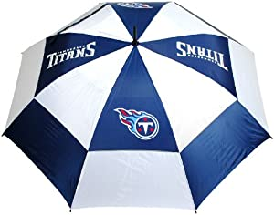 NFL Tennessee Titans 62-Inch Double Canopy Umbrella by Team Golf