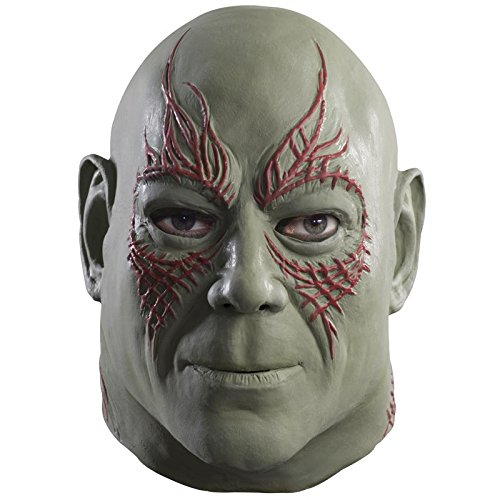Rubie's Costume Men's Guardians Of The Galaxy Overhead Drax The Destroyer Mask, Multi, One Size - 1