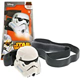 Star Wars Rebels Stormtrooper Head Lamp - Elastic Headband with Bright LED Lights and Timer